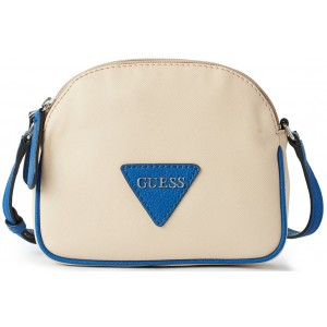 Crossbody Guess - Elyza Textured Cream multi