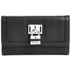 Černá peněženka G by Guess - Hugues Checkbook Wallet