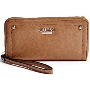 f24a4f2b33e Hnědá peněženka Guess - Isabella Zip-Around - HMFashion - značkové ...
