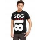 Pánské černé tričko G by Guess - Uprising Graphic vel. S,XL,2XL