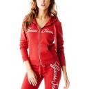 Červená mikina Guess - Allyson vel. XS,S,M,L