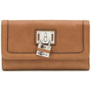 Peněženka G by Guess - Hugues Checkbook Wallet