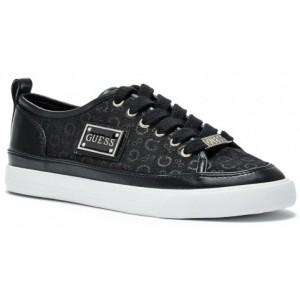 Dámské černé tenisky Guess - Baya Logo Sneakers vel. 36,38.5
