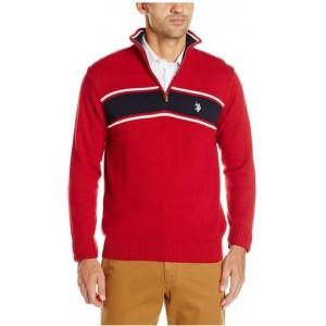 Pánský červený svetr U.S. Polo Assn. vel. S,M,XL,2XL