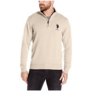 Pánský béžový svetr U.S. Polo Assn. vel. S,M,2XL