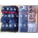 Hugo Boss pánské boxerky vel. M,L,XL - 3 kusy