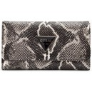 Peněženka Guess - Abree Python-Embossed Slim Wallet