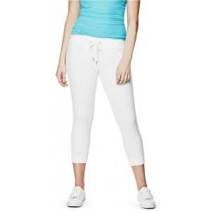 3/4 bílé tepláky Guess-Eliza Cropped vel. S,L,XL