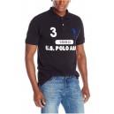 Pánské černé polo triko U.S. Polo Assn. vel. M,XL
