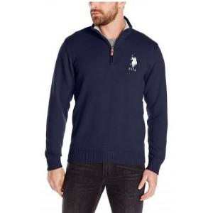 Pánský tmavě modrý svetr U.S. Polo Assn. vel. XL
