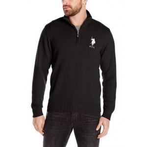 Pánský černý svetr U.S. Polo Assn. vel. S,M,L