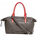 Kabelka Guess - Paradis Logo Satchel Natural multi