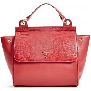 Červená kabelka Guess - Josefina Satchel