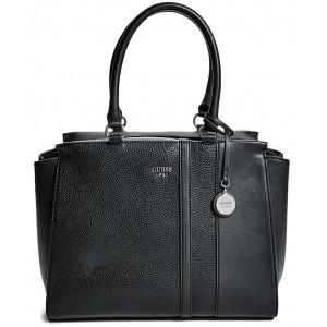 Černá kabelka Guess - Castlehill Satchel