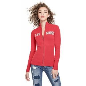 Červený svetřík G by Guess - Lara Logo vel. XS,S,M,L