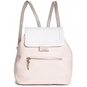 cd1b6896b64 Růžový batoh Guess - Rosanna Flap Backpack - HMFashion - značkové ...