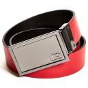 Černý/červený pásek Guess - Reversible Spinner Belt vel. 30,32,34,36,38
