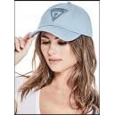 Unisex modrá kšiltovka Guess - Triangle Baseball Hat