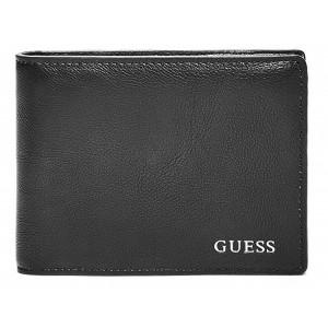 Pánská černá peněženka Guess - Billfold