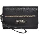 Černá peněženka Guess - Bonora Logo Smartphone Wallet