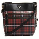 Velké crossbody Guess - Celestina Plaid Large Tourist