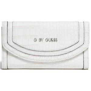 Bílá peněženka G by Guess - Laurentine Slim Wallet
