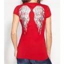 Luxusní červené tričko G by Guess vel. XS,S,M,L