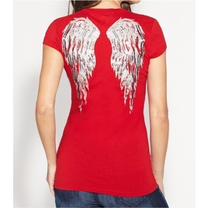 Červené tričko G by Guess vel. XS