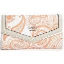 Peněženka Guess - Wonderful Printed Slim Wallet Orange