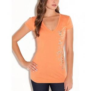 Oranžové tričko G by Guess vel. S