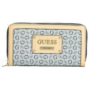 Peněženka Guess - Proposal Zip-Around Wallet Indigo
