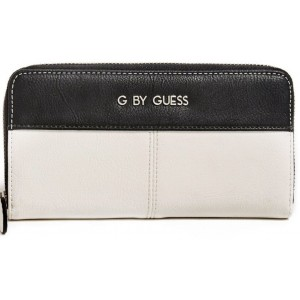 Peněženka G by Guess - Nisha Zip-Around Black multi