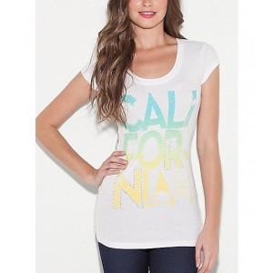 Bílé tričko G by Guess s potiskem vel. XS,S,M