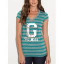 Exkluzivní pruhované tričko G by Guess vel. XS,S,M,L,XL.