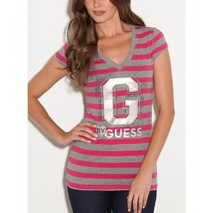Pruhované tričko G by Guess vel. XS