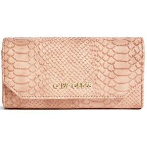 Peněženka G by Guess - Mckenna Slim Wallet Peach