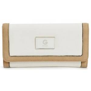 Bílá peněženka G by Guess - Nickel Color-Block Wallet