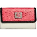 Růžová peněženka G by Guess - Sunwashed Flap Wallet