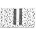 Bílá peněženka Guess-Honeyville Slim Wallet