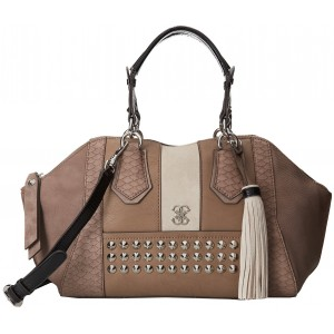 Kabelka Guess - Knoxville Uptown Satchel Taupe