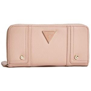 c18c29e358f Pudrově růžová peněženka Guess - Seda Zip-Around - HMFashion ...