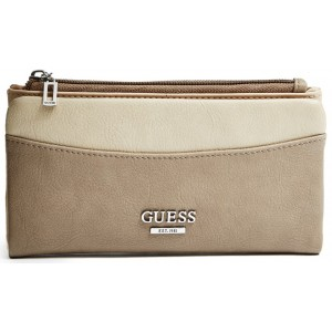 Peněženka Guess - Elvira Color-Block File Clutch