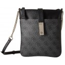 Crossbody Guess - Nissana Mini Top Zip Coal